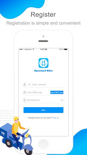 Openfood Rider hack tool