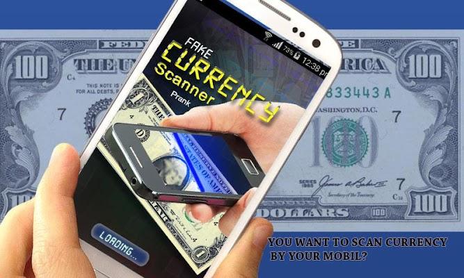 Fake Currency Scanner Prank - screenshot