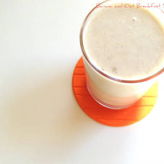 Banana and Oat Smoothie Breakfast Smoothie.
