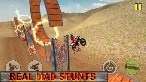 motorcycle stunt madness extreme racing screenshot 3