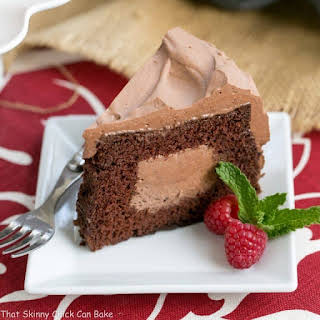 Tunnel of Mousse Cake.