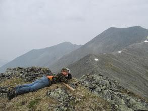 Photo: На вершинке 2760 м к северу от перевала Моренного