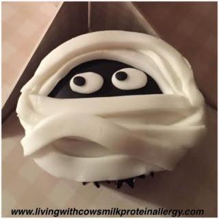 Dairy Free Halloween Cupcakes Recipe