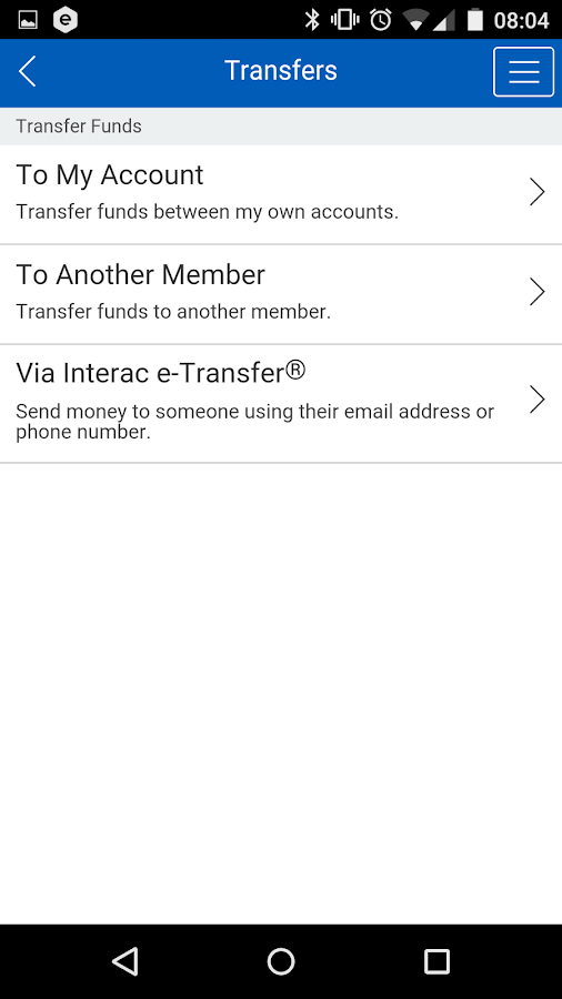 Coast Capital Savings Mobile- screenshot