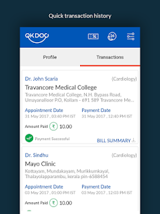 QKDoc - Hospital appointments made easy- screenshot thumbnail