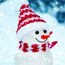 Snowman Wallpapers HD New Tab Icon