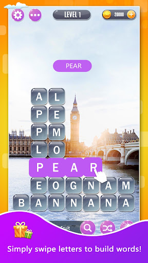 Word Town: Search, find & crush in crossword games  captures d'u00e9cran 1