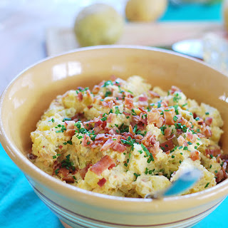 The Ultimate Loaded Potato Salad.