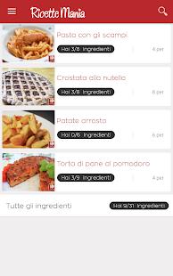 Recipes Mania - náhled
