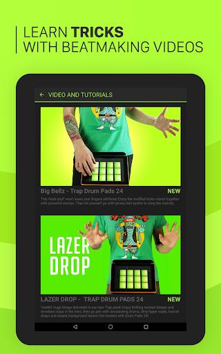Trap Drum Pads 24 - Make Beats & Music screenshot 8