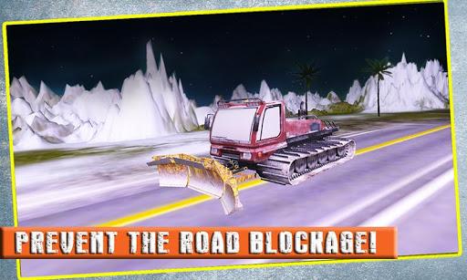 実際の雪かきトラックシミュレータ