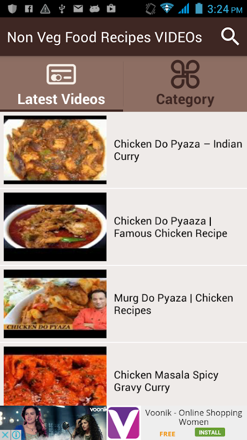 Non veg food recipes videos android apps on google play non veg food recipes videos screenshot forumfinder Images