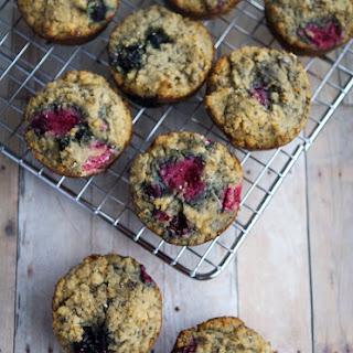 Gluten Free Berry Chia Muffins