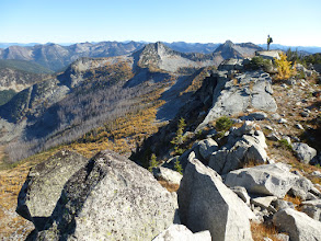 Photo: Great views to the south on a clear Fall day