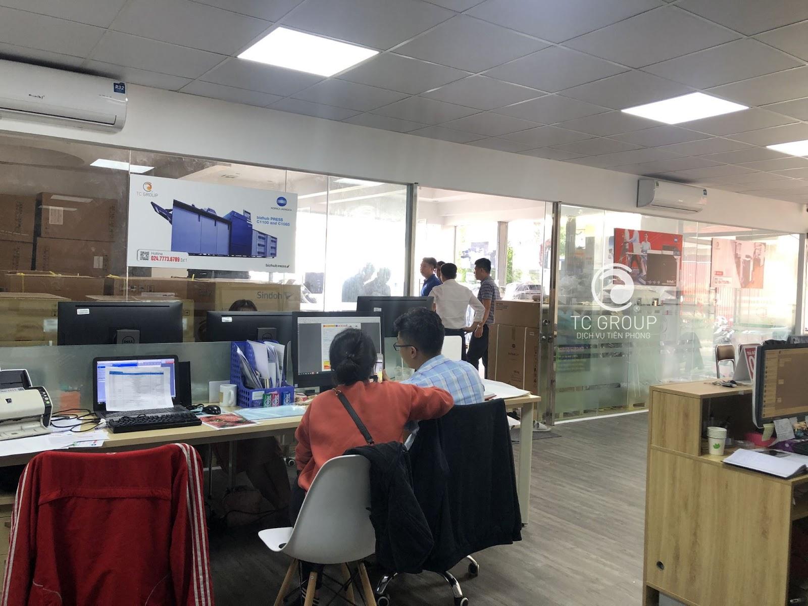 Giải pháp quản lý người sử dụng máy in