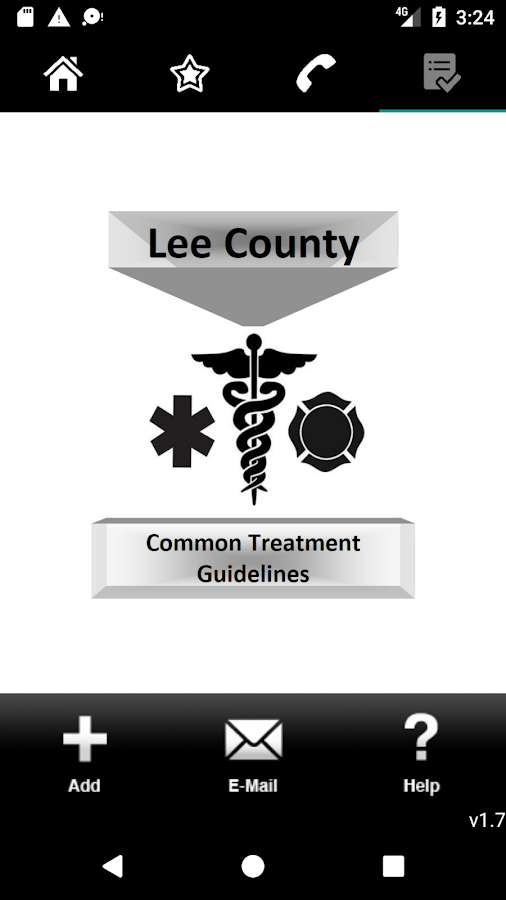 Lee County Florida Guidelines- screenshot