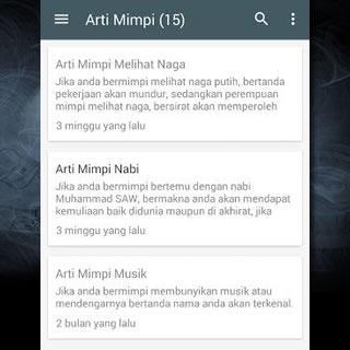 Image Result For Arti Mimpi Ramalan