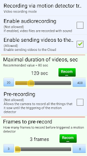 USB camera + motion detector + Call + EMAIL - náhled