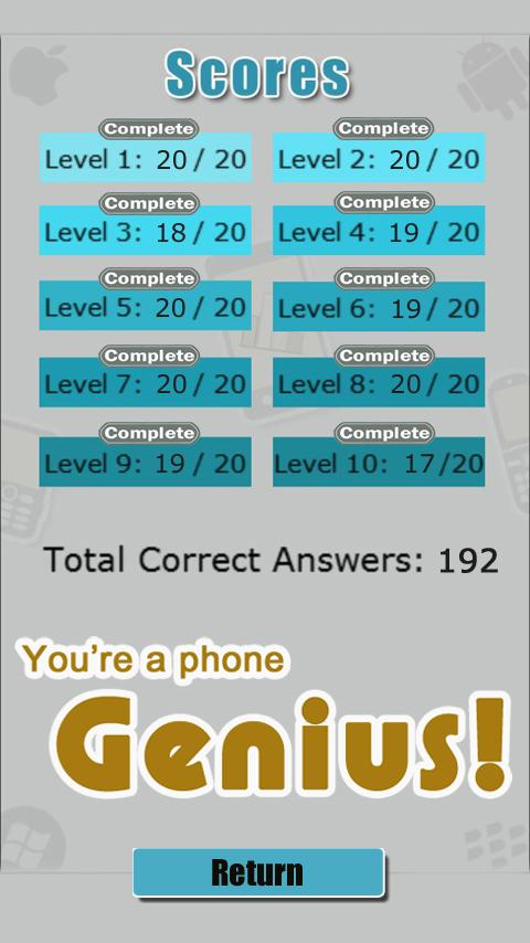 Guess the Phone Quiz game