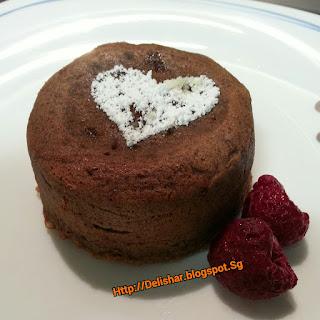 Milo Molten Lava Cake