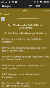 Agile Manifesto screenshot 3
