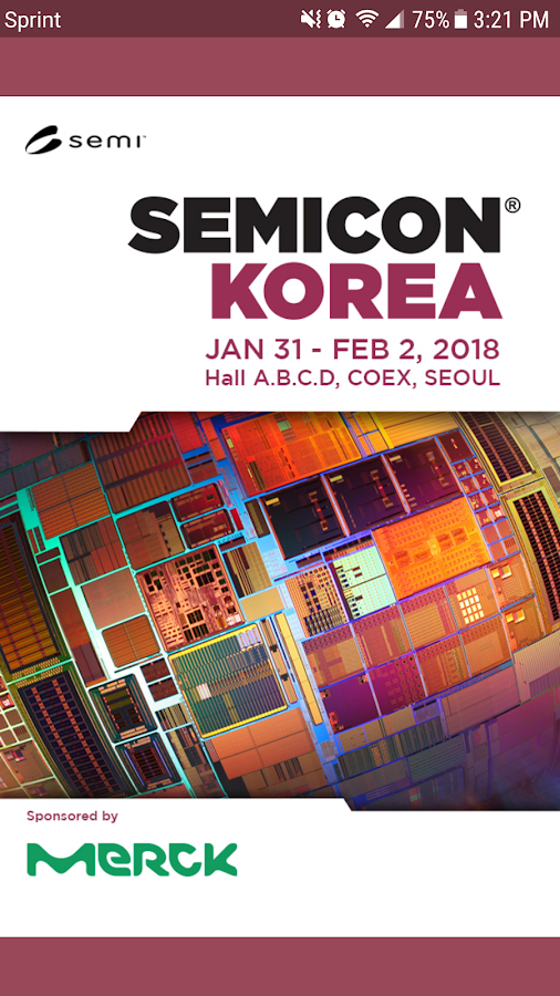 2018 SEMICON Korea- screenshot