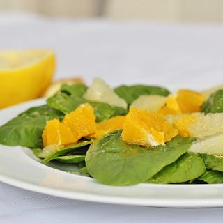 Spinach Citrus Salad Recipe