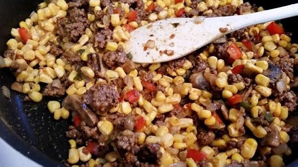 Stir in the taco seasoning, salt, bullion, pepper and red pepper flakes if using....