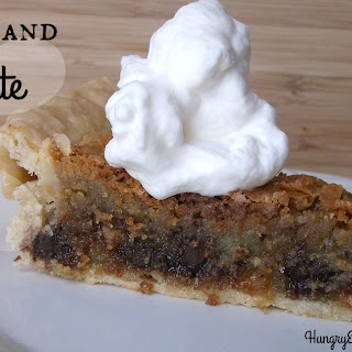 Toffee and Chocolate Chunk Pie