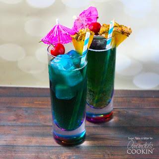 Blue Mermaid Cocktails.