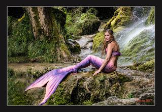 Photo: Wasser und Nixe Ich habe auch mal den Farbfilm herausgeholt: Portrait photography: goo.gl/B1OsX8