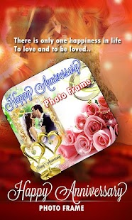 Anniversary Photo Frame Maker screenshot