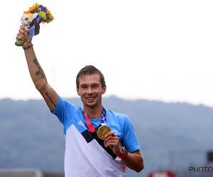 Olympisch kampioen tijdrijden Primož Roglič als een held onthaald in zijn thuisland