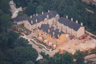 Photo: Aeriel Picture Of Town Homes . 3 Of 4 Buildings are Up