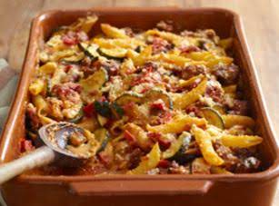Kraft's Velveeta Italian Sausage Bake Recipe