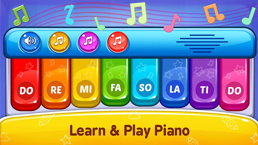 Baby Games - Piano, Baby Phone, First Words Apk 2