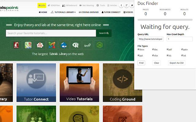 Doc Finder for Chrome