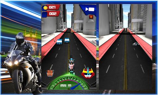 ハイウェイスタントバイクレーシング3D