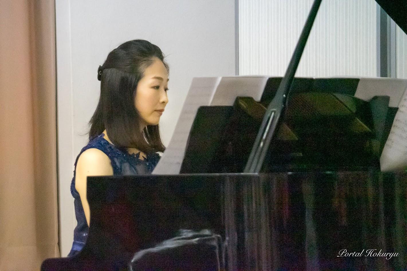 ピアノ・鹿野知代さん