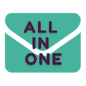 All Email Accounts in One- E mail Inbox, Read Mail icon