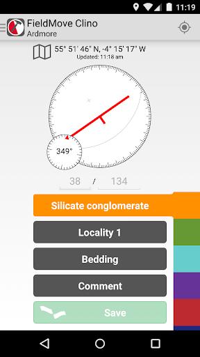 FieldMove Clino screenshot 4
