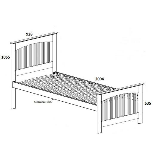 Birlea Toronto Oak 2 in 1 Bed