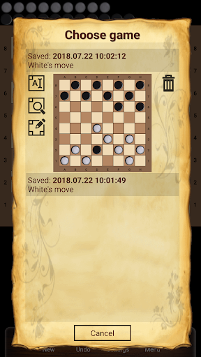 Shashki - Russian draughts - screenshot