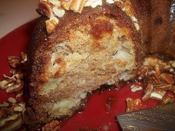 Apple Cake / Caramel Glaze
