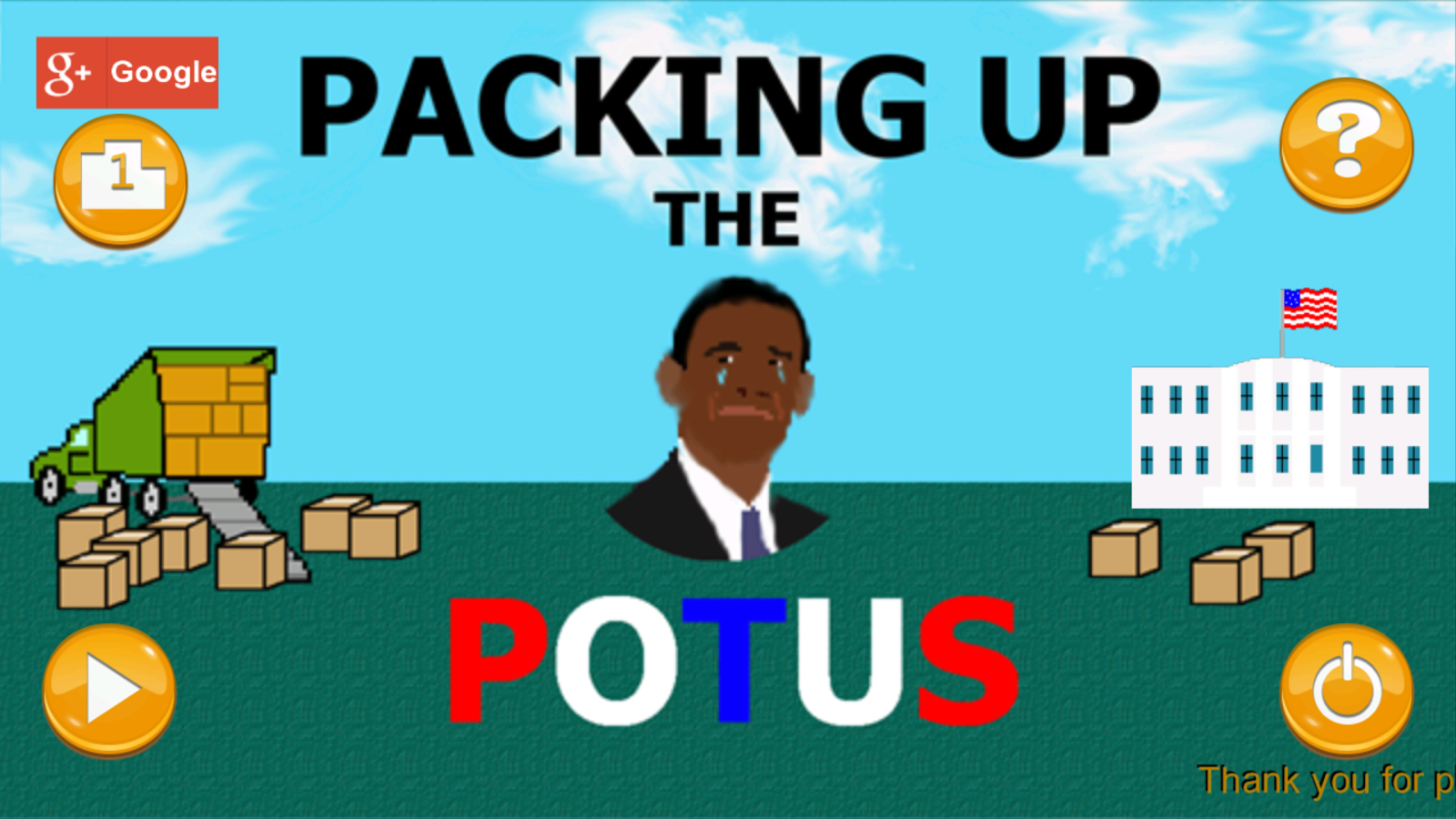 Packing Up the POTUS- screenshot