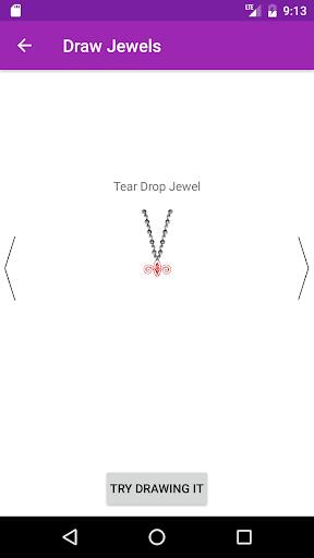 玩免費遊戲APP|下載Draw Jewels Step By Step app不用錢|硬是要APP
