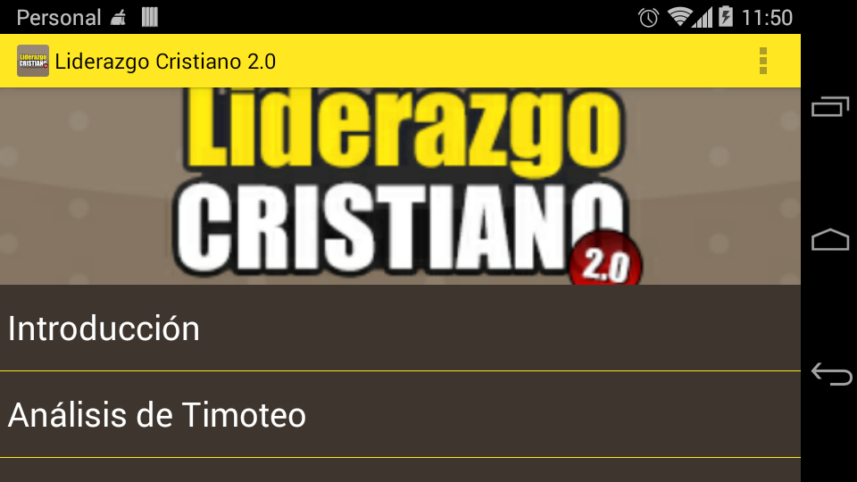 Liderazgo Cristiano 2.0- screenshot