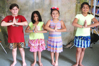 Photo: Bollywood lesson by Gargi at the Challenge Camp 2014 (day 4)