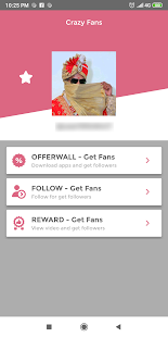 App Crazy Fans - Get fans & Get followers on Tlk.Tk APK for Windows Phone