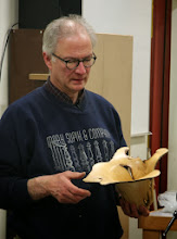 Photo: The fantastic natural-edge hornbeam bowl actually comes from the roots of the tree.